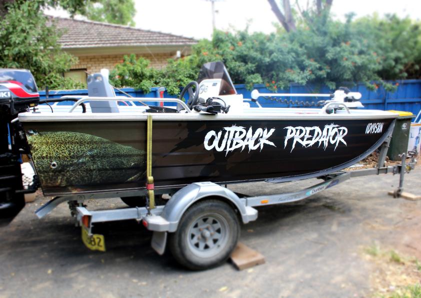 dubbo boat wrap