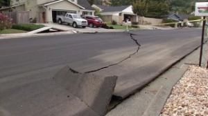 Largest earthquake ever to hit Napa, CA earlier this week