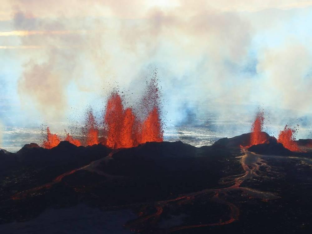 Bardarbunga erupts in Iceland
