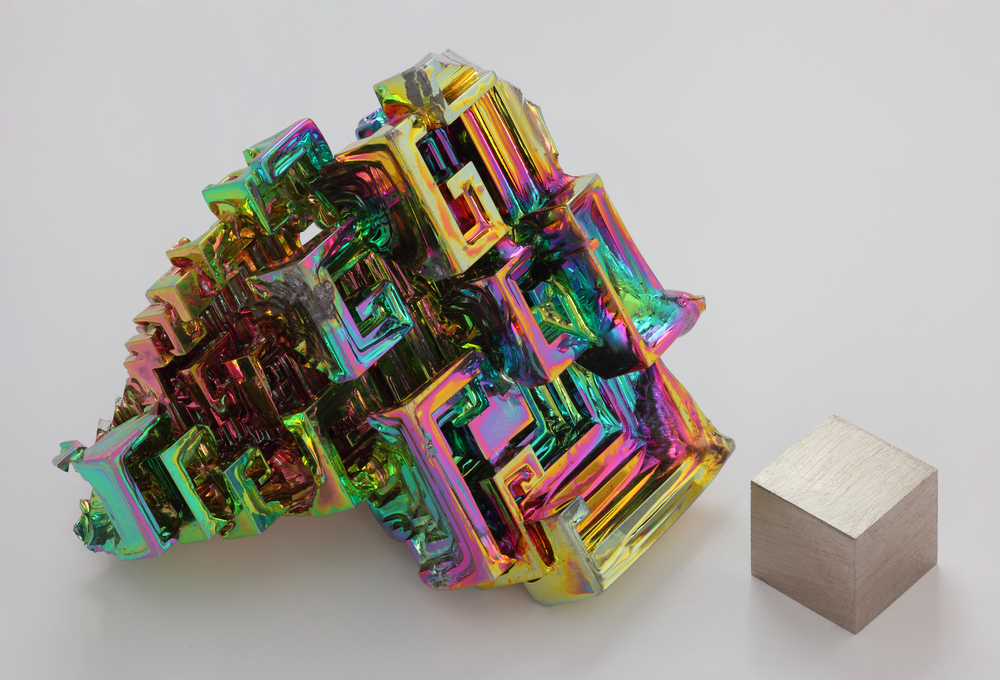 Bizmuth is a really neat mineral
