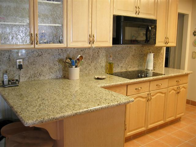 Exhibit 1 - An actual granite countertop.