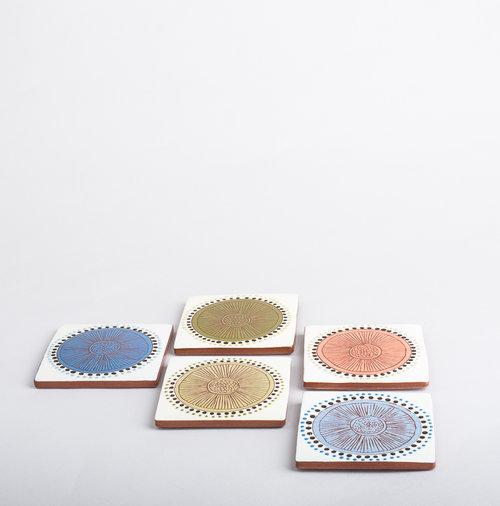 Allium Coasters