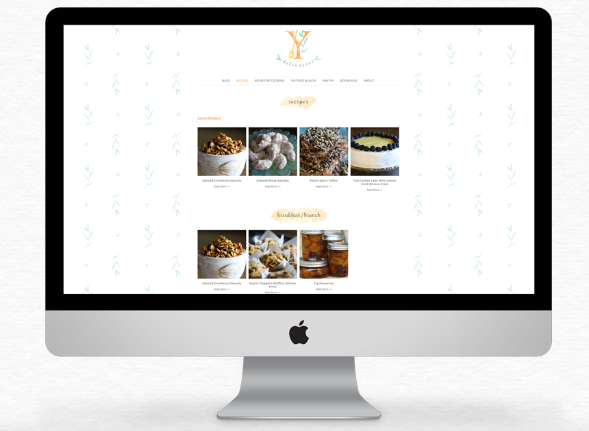 YDelicacies Website