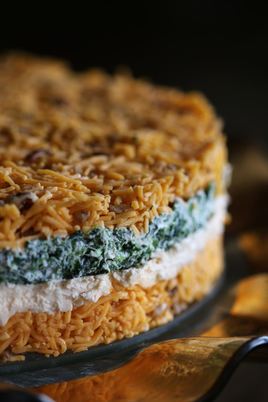 Layered Cheese Torte