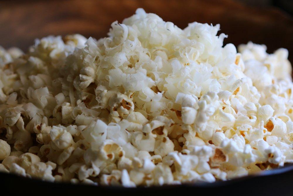 Manchego Truffled Popcorn