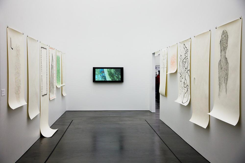 Studio Visit (installation shot) 2010