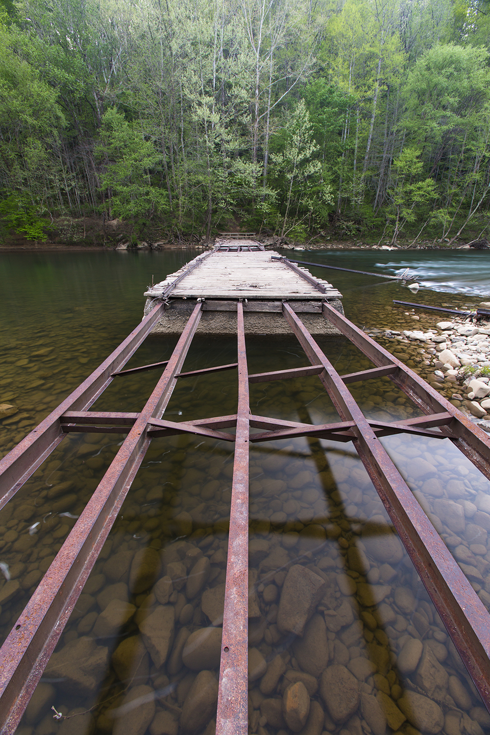 Bridge to Nowhere - Big South Fork National Reserve