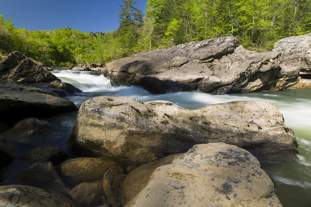 Big South Fork River - Angel Falls