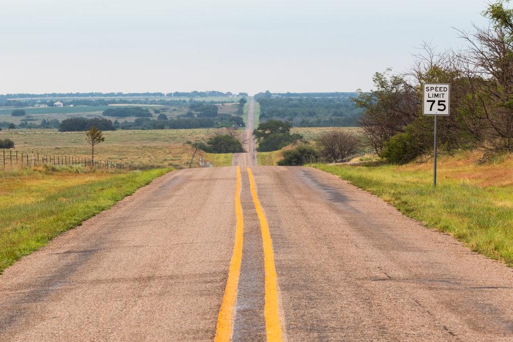 A Texas road