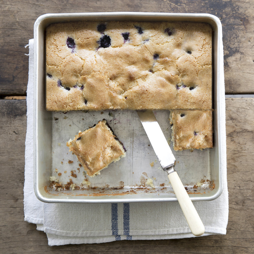 blue-ribbon blueberry cake