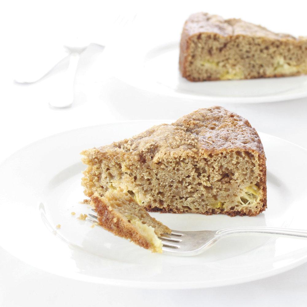 rhubarb country cake