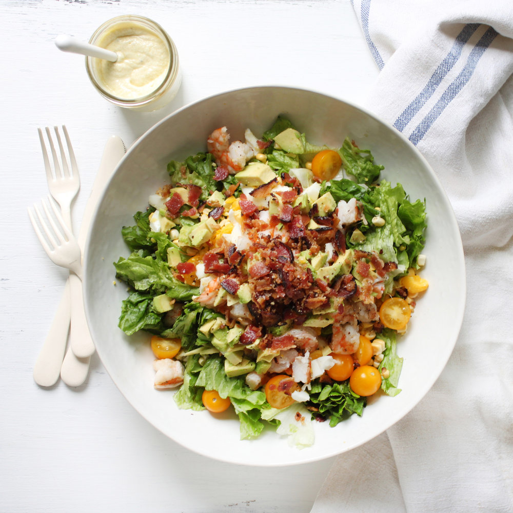 coastal cobb salad