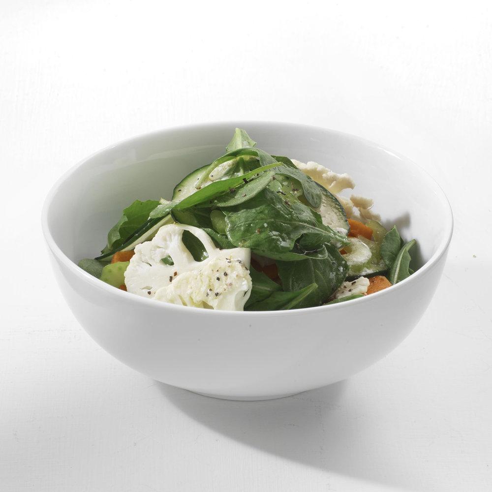 chopped vegetable salad