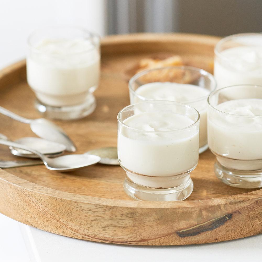 yogurt mousse