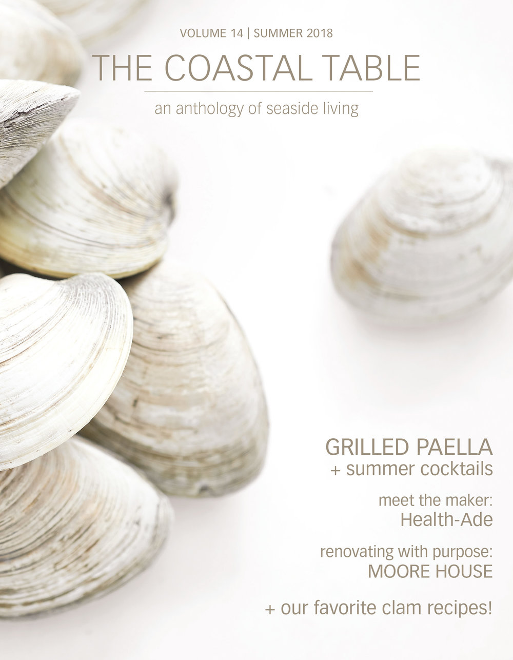 the coastal table summer 2018