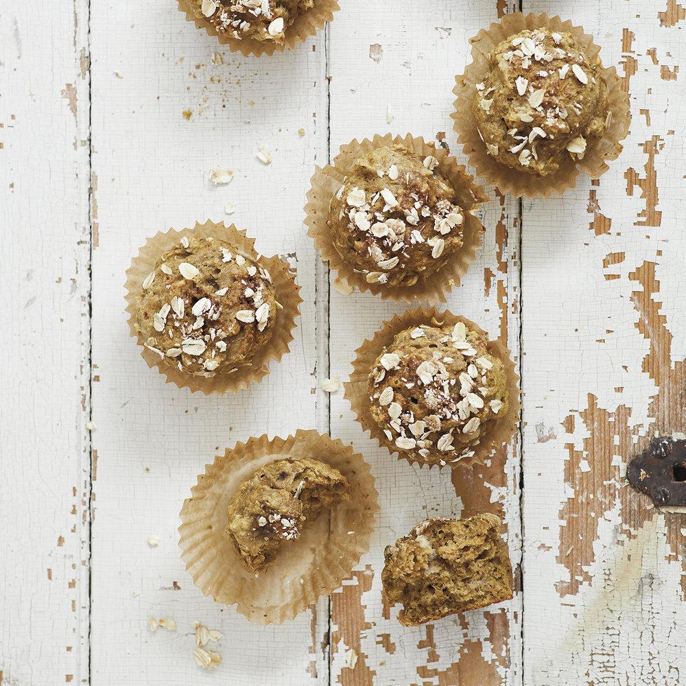 banana butternut squash muffins