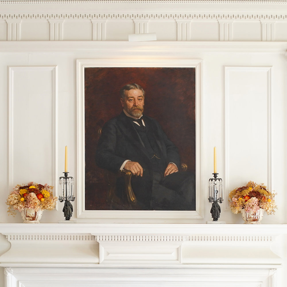 Robert Todd Lincoln's portrait at Hildene