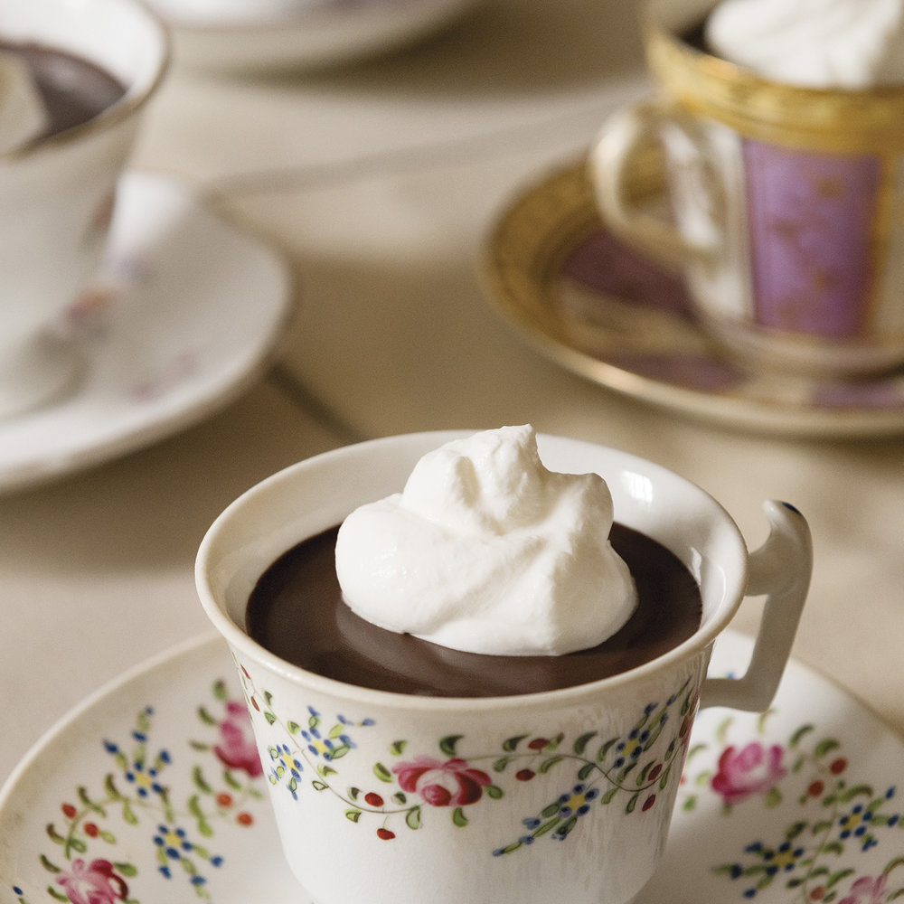 no-bake chocolate pots de crème