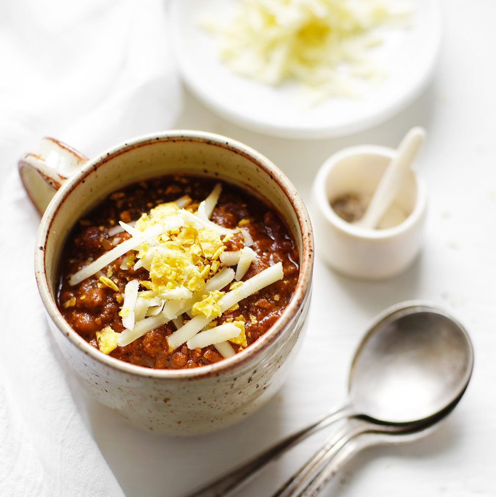 beef + beer chili