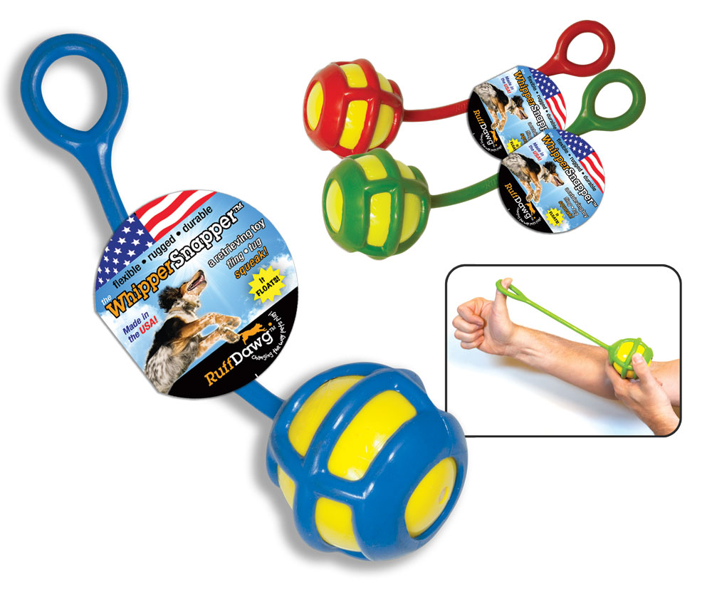 Durable Dog Toys by RuffDawg WhipperSnapper