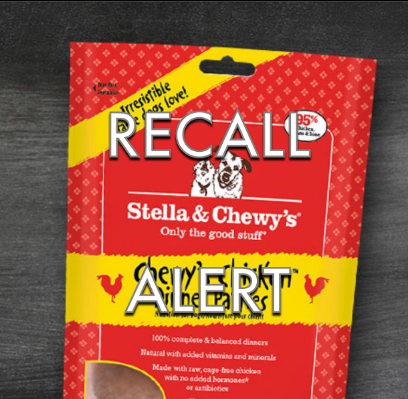 Stella & Chewy's Dog Food Recall 2015