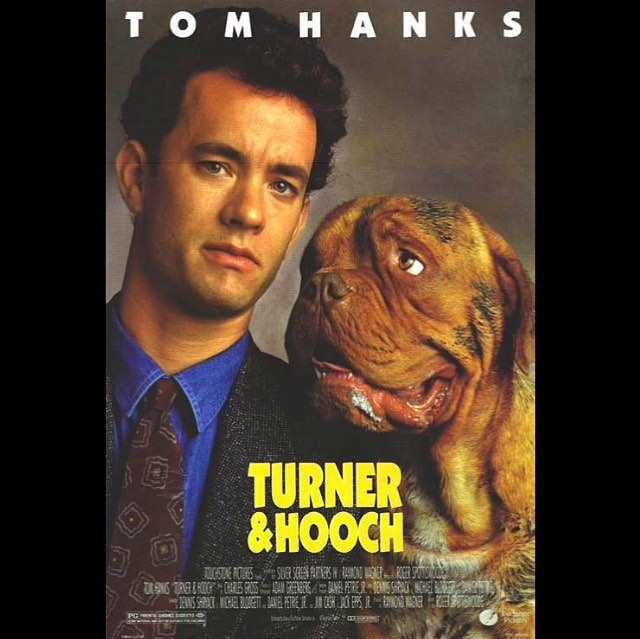 Turner and Hooch . This Tom Hanks flick is all about what happens when a fastidious cop has to partner with a slobbery dog to solve a crime. Photo credit: IG @rateflix