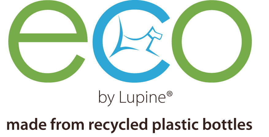 lupine collars eco collection banner sign