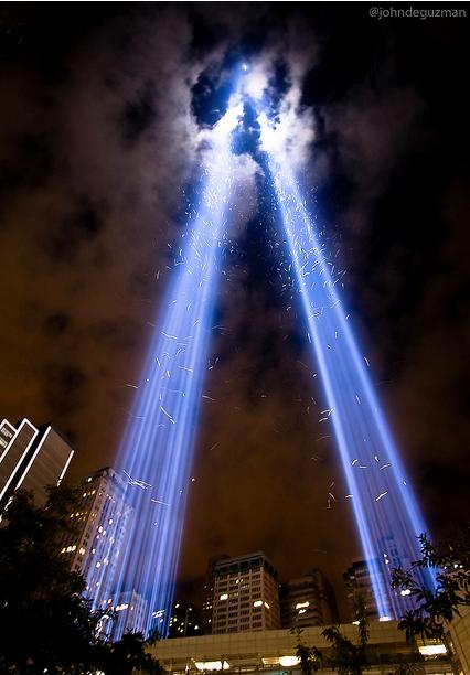 9 11  memorial of light
