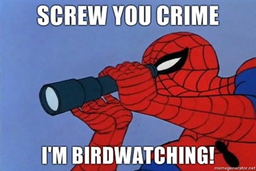 Screw-you-crime-Im-birdwatching