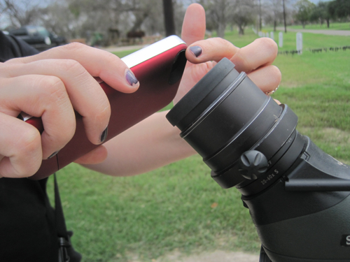 Digiscoping With An iPhone Tutorial — Birdchick