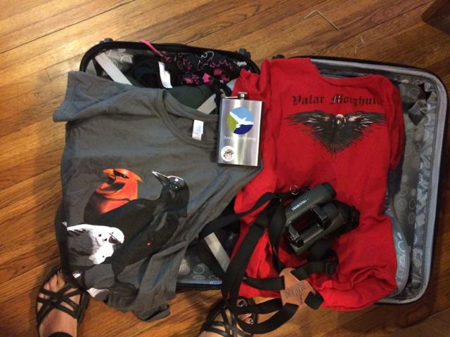 Packing the essentials for British BirdFair!