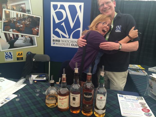 Protip: visit any Scotland related booth in the afternoon, there will be scotch. I really liked the Birdwatching Wildlife Club booth.