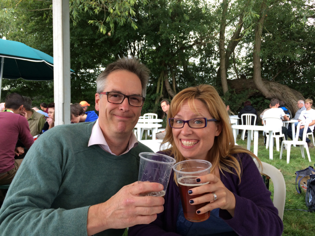Me with Craig Nash aka @BirdBlogger on Twitter.