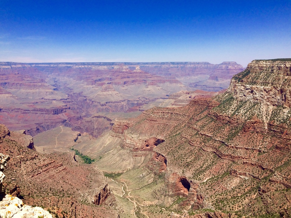 The South Rim of the Grand Canyon. I love how insignificant I feel looking into this crazy deep hole in the ground.