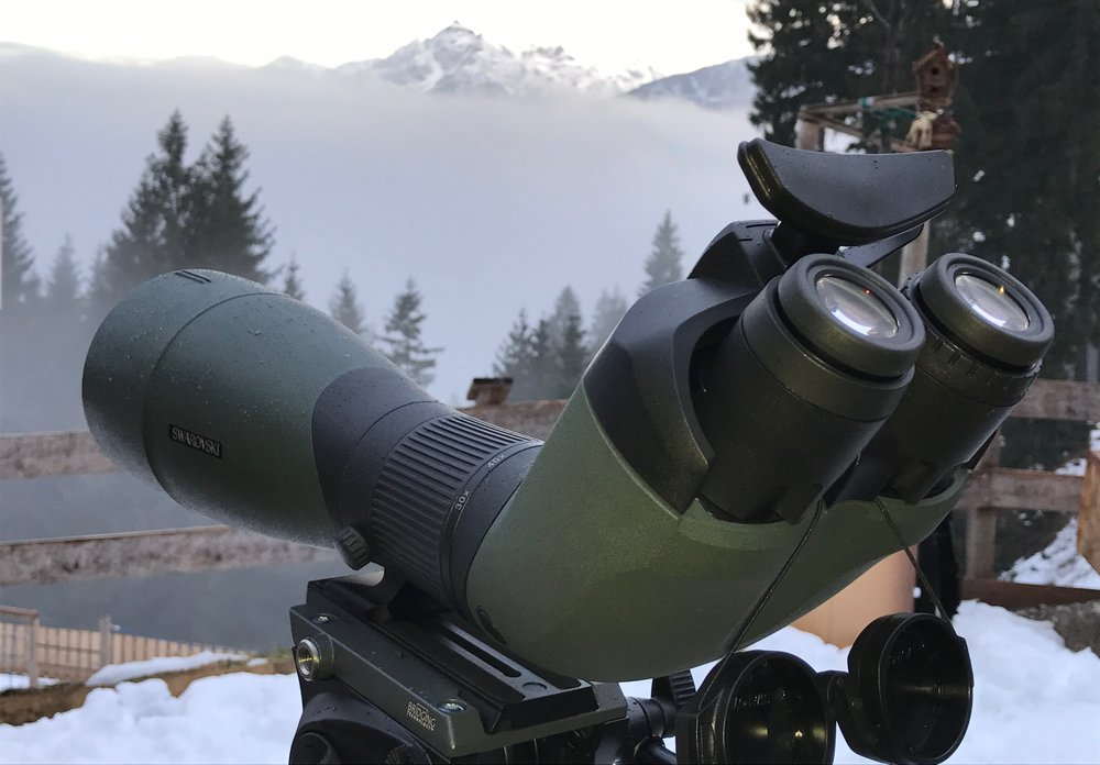 Say hello to the new BTX which combines binocular vision with the light gathering ability of a spotting scope.