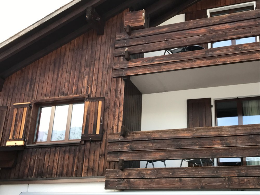 It took a few moments, but we finally found it. Can you spot it on this chalet? If not, the video below will help you.