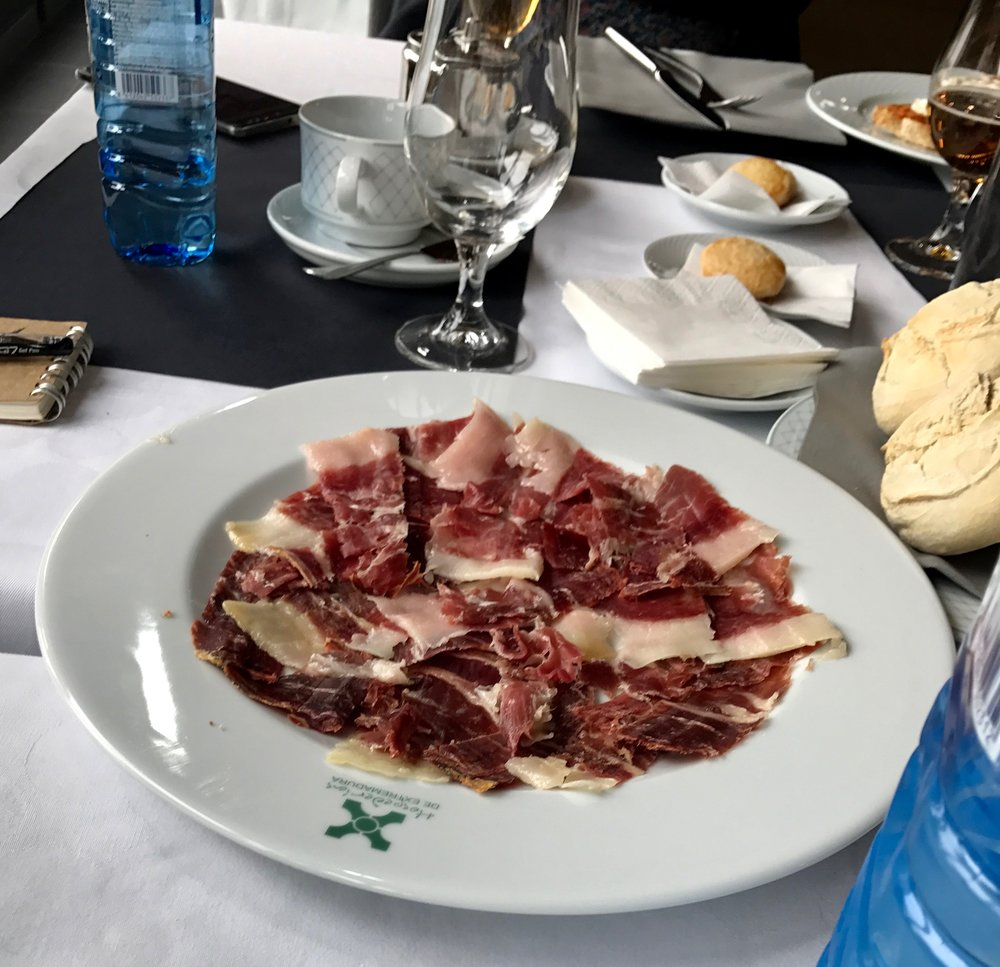 If you are not a vegetarian, make Iberian Ham a priority when visiting Extremadura.