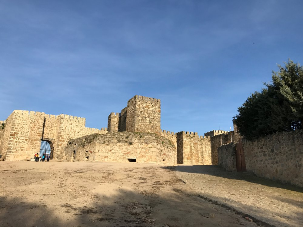 Trujillo Castle.