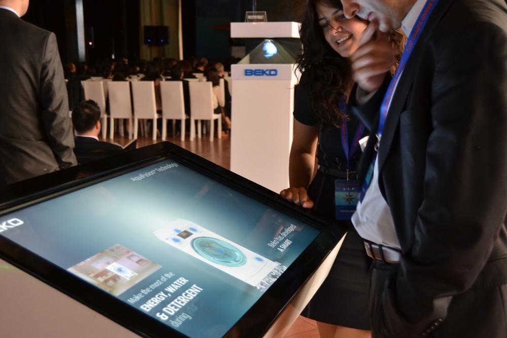 Beko Touch Screen Ekran Uygulması    Rahmi Koç Müzesi    IFA Fuarı Berlin