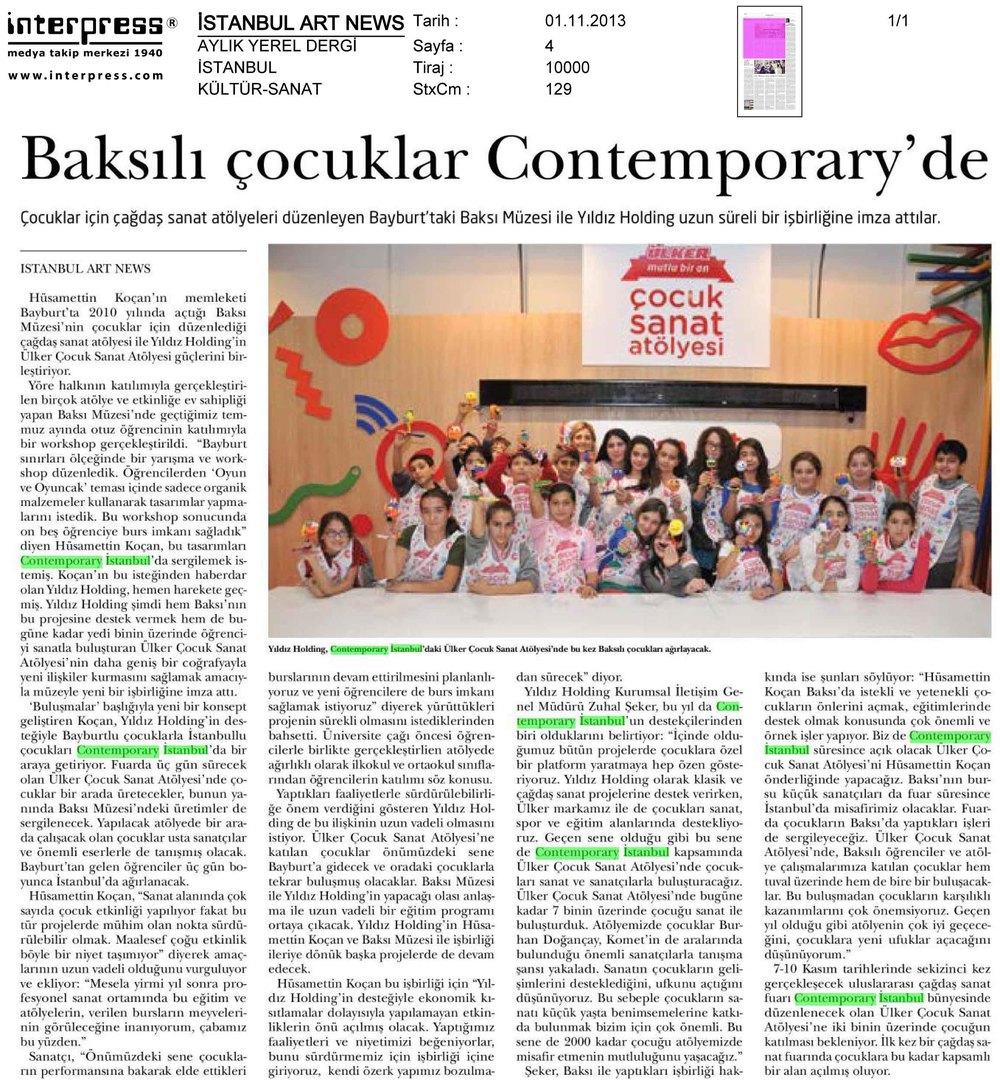 Istanbul Art News 3 - 2 Aylık Dergi - 01.jpg