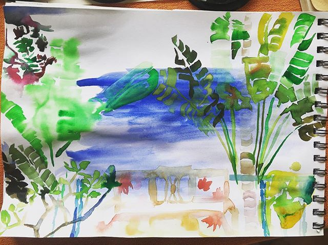 Jungle drawing  #drawing #watercolour #jungle #india