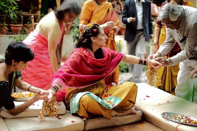 Portrait of the beautiful bride!  #mehndi #indianwedding #goesonfordays #dehradun #photography