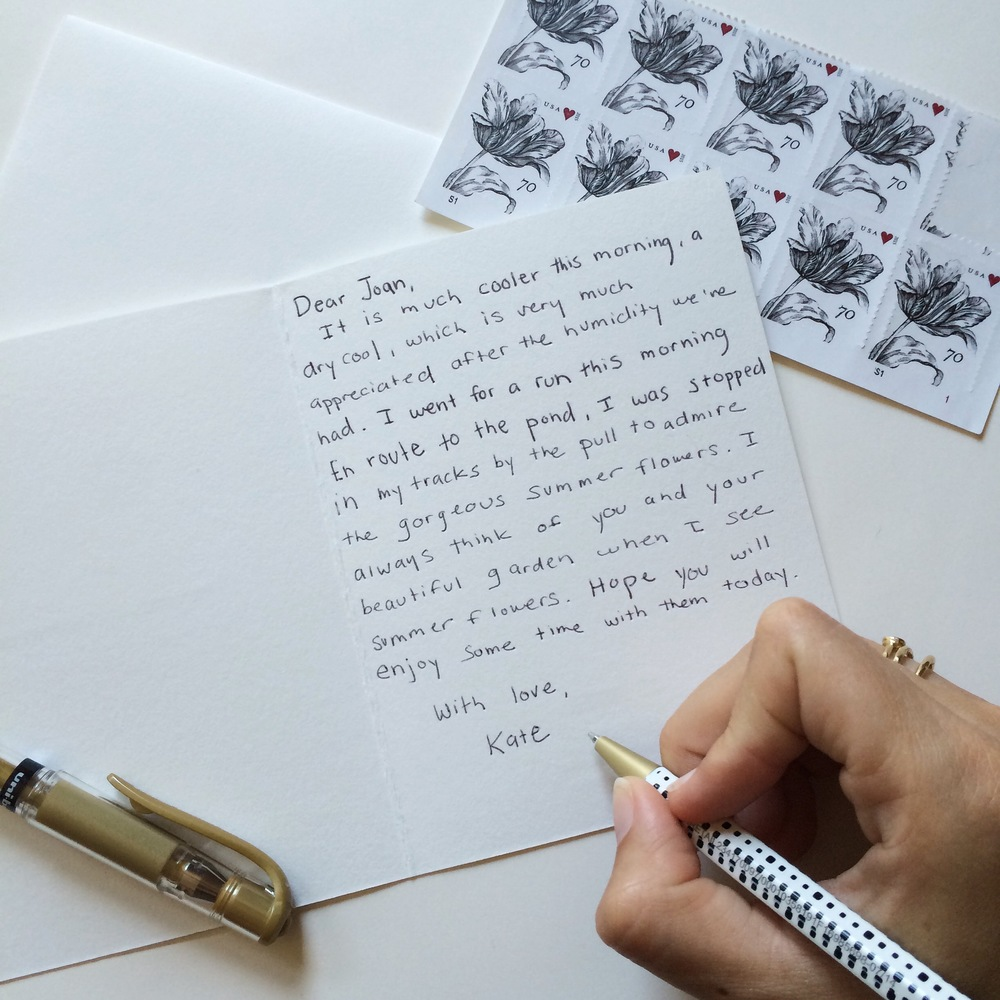 Taking time to appreciate small moments and share them with others // Of Note Stationers