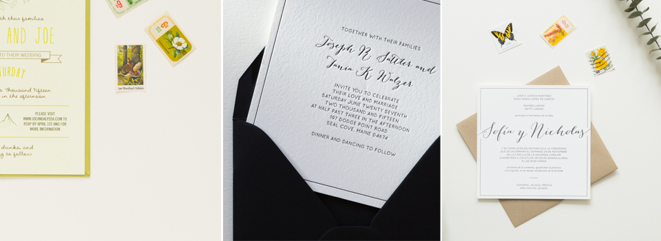 Wedding Invitations Of Note Stationers