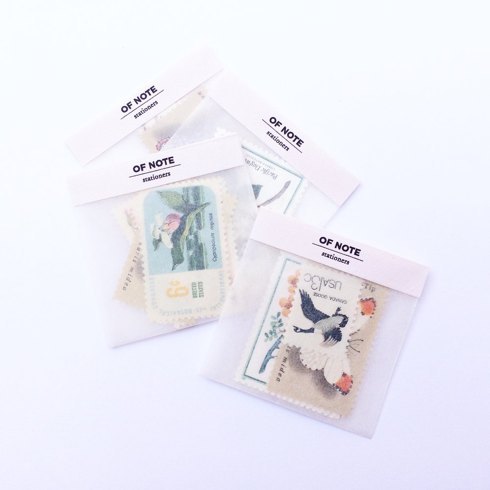 Assorted Vintage Postage Packs