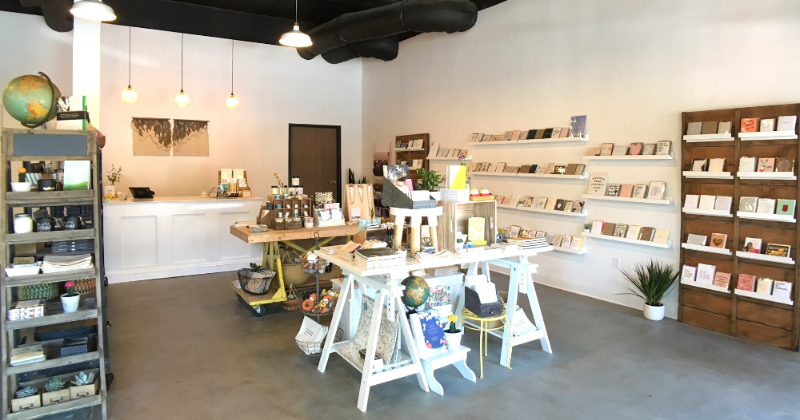 Shop scene from M. Lovewell in Santa Ana, CA.