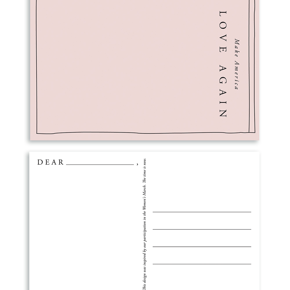 Love Postcard | Of Note Stationers