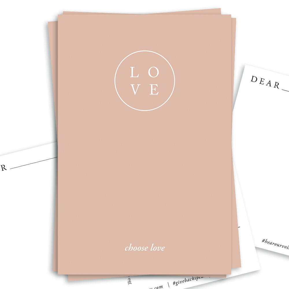 Choose Love, Free Download | Of Note Stationers