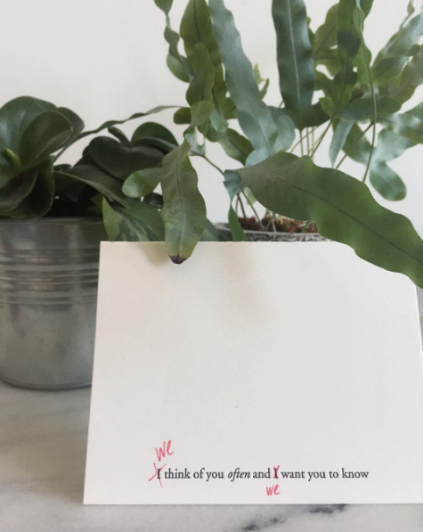 A great reminder that our cards are meant to be personalized! Love this from @space_bos.