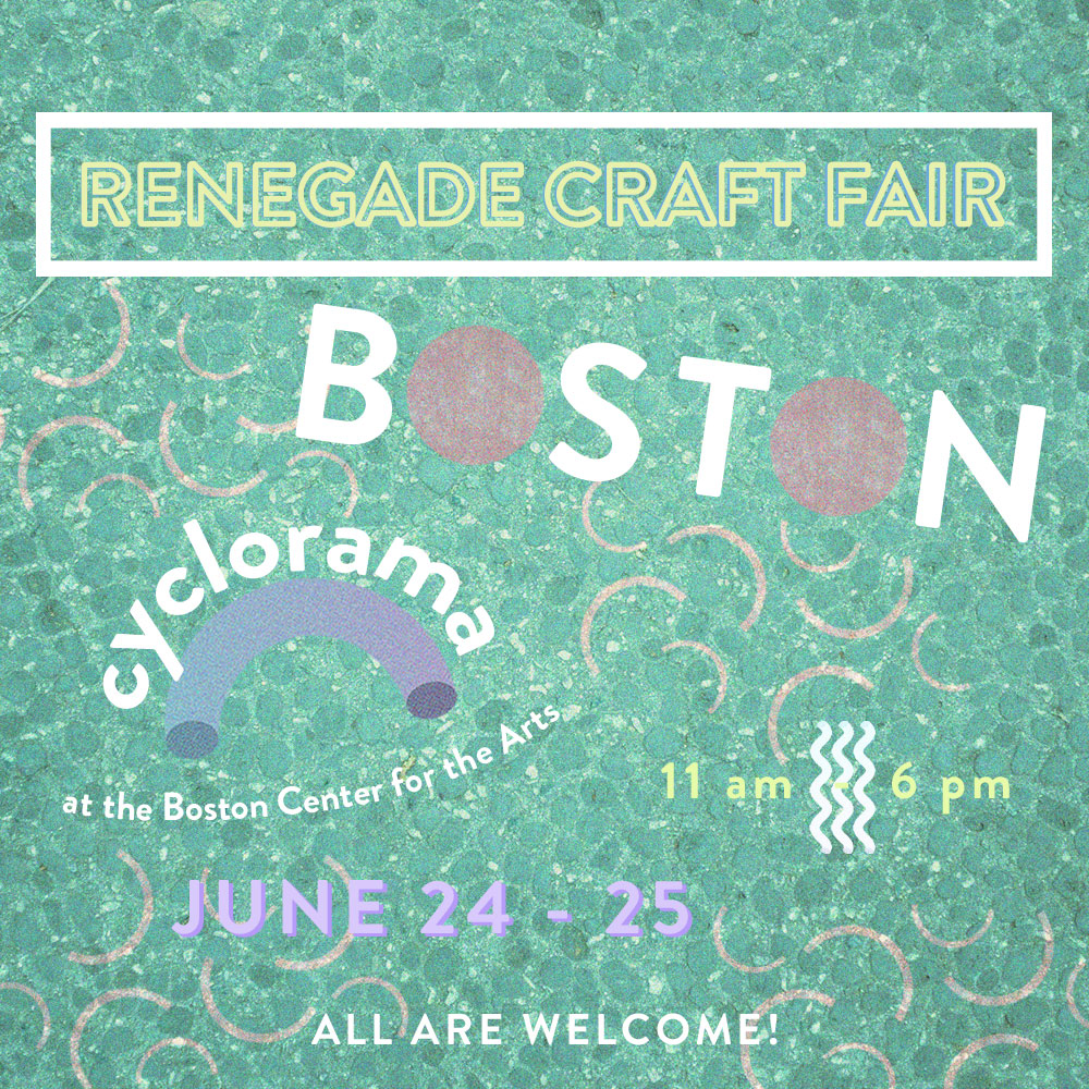 Renegade Craft Fair Boston